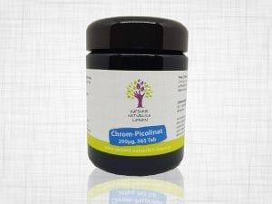 Chrom Picolinat 200µg, 365 Tab