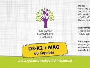 D3 K2 + Mag Kapseln