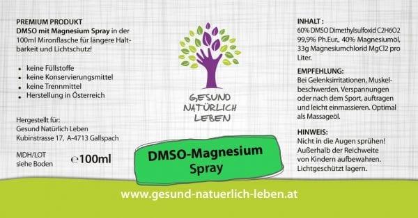 DMSO Mag Spray