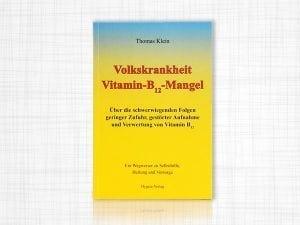 Buch Volkskrankheit Vitamin B12 Mangel