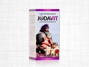 Eine Packung Jodavit Tropfen von Robert Franz